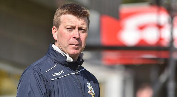 Focused: Pat McGibbon just wants to concentrate on the football