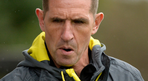 Lacking firepower: Crusaders manager Stephen Baxter