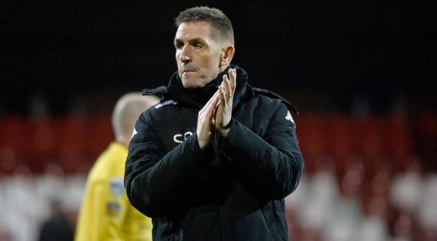 Moving on: Stephen Baxter is focusing on Cliftonville hurdle