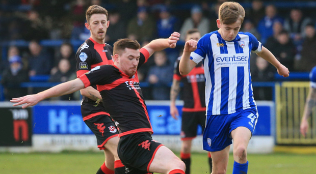 Crunch time: Crusaders or Coleraine will be the first Irish League winners to benefit from the Europa League's new champions pathway