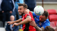 All good: Chris Hegarty feels Crusaders deserved the win