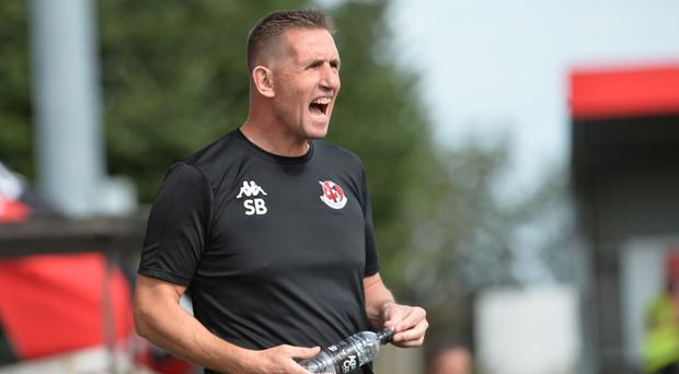 Fired up: Stephen Baxter wants Crusaders to kick on