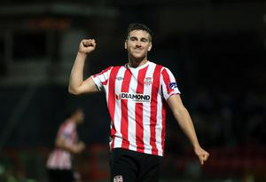 Goal-den shot: Patrick McEleney is hungry to hit his goal target of 10 for the season in tomorrow's FAI Cup final