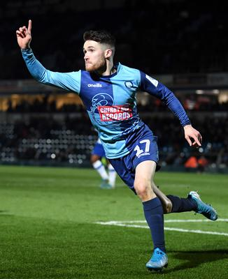 Wing wizard: Paul Smyth is hoping to get the nod for Wycombe