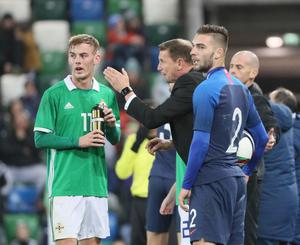 New Northern Ireland senior boss Ian Baraclough has spoken out about Mark Sykes' decision to declare for the Republic of Ireland.