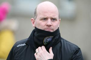 Just reward: Barry Gray has penned a new two-year deal at Warrenpoint