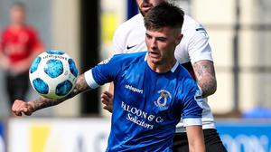 Battle ready: Rhyss Campbell says Dungannon need to get the better of teams around them
