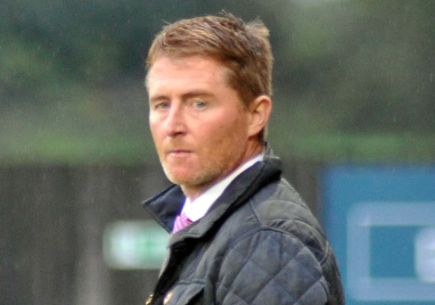 Tough start: Darren Murphy's Dungannon have one point