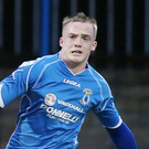 Dungannon's Andrew Burns