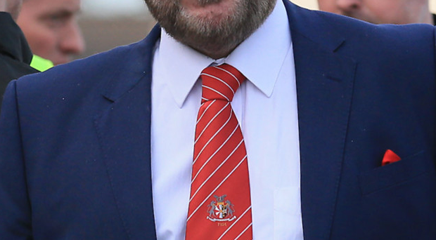Sickened: Niall Currie saw Portadown lose yet again