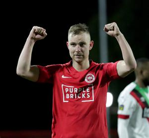 Winning form: Andrew Mitchell is enjoying life at his new club