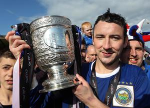 Michael Gault: Seven league titles with Linfield