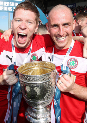 Barry Johnston: two league titles with Cliftonville