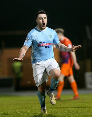 Cathair Friel grabbed his first goal of the season