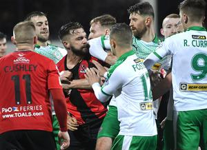 Tempers have been fraying across the Irish League during drawn out decision-making process on how to end the season.