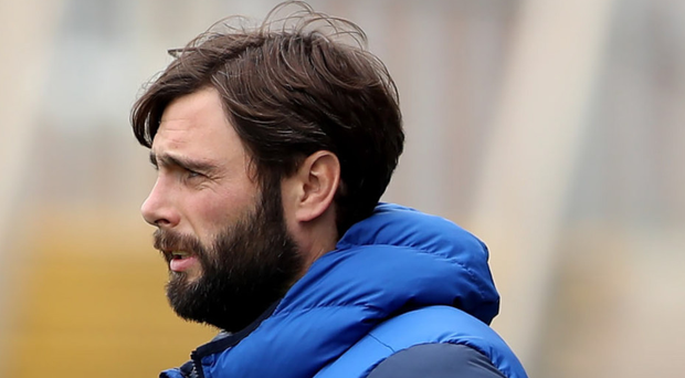 Tighten up: Gary Hamilton wants his defence to stand firm against Ards