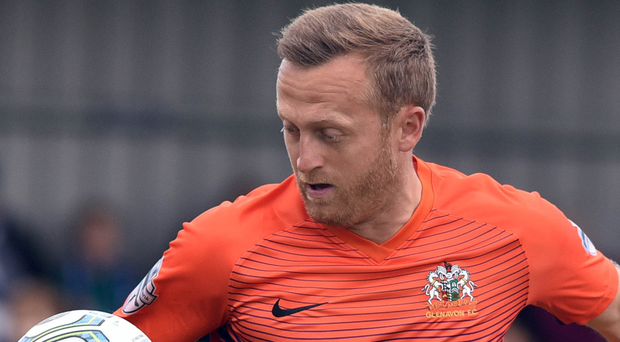 Back: Sammy Clingan is now a Mourneview Park regular