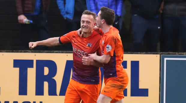 Split decision: Glenavon's Sammy Clingan is a big fan of the Danske Bank Premiership's split