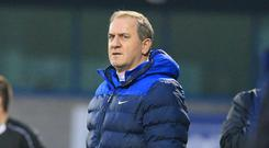Frustrated: Glenavon assistant boss Paul Millar