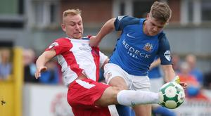 Lurgan blues: Glenavon will bid to put their Mourneview woes behind them when they host Linfield tomorrow night