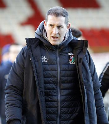 Frustrated: Oval boss Gary Haveron