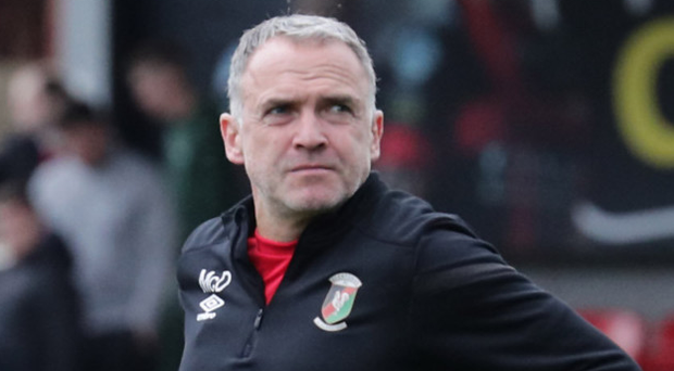 Making progress: Mick McDermott has overseen Glentoran's rise to fifth place in the table so far this season
