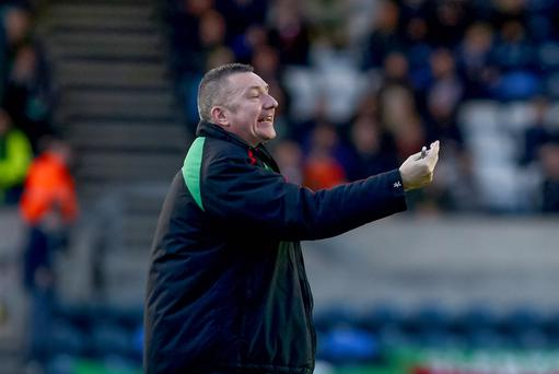 At a loss: Glens boss Eddie Patterson's preparations have been hit by players taking holidays after the end of last season