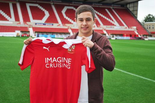 It's early days for Jordan Stewart at Swindon Town