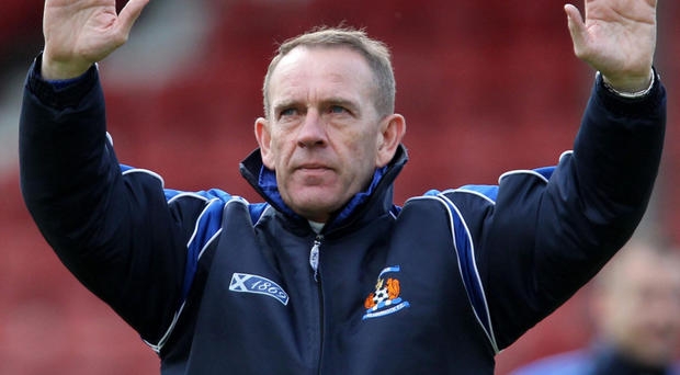 Big task: Kenny Shiels is in line for the Glentoran job