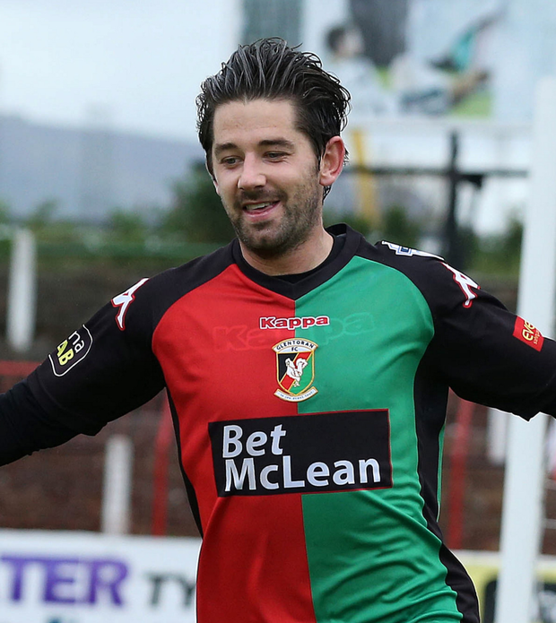 Big game: Curtis Allen is confident the Glens can win