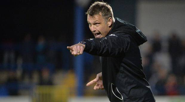 Under-fire: Glentoran boss Alan Kernaghan is facing growing pressure at the Oval
