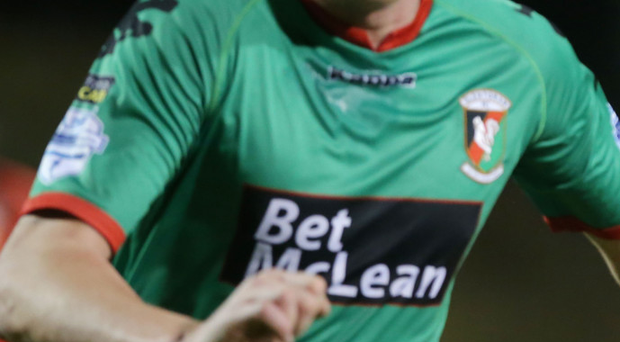 In demand: Jay Magee could be leaving Glentoran