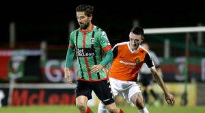 Worried man: Curtis Allen could miss a Euro play-off tie
