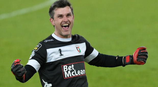 One vision: Elliott Morris is determined to help Glentoran reach the European stage and reap a rich reward