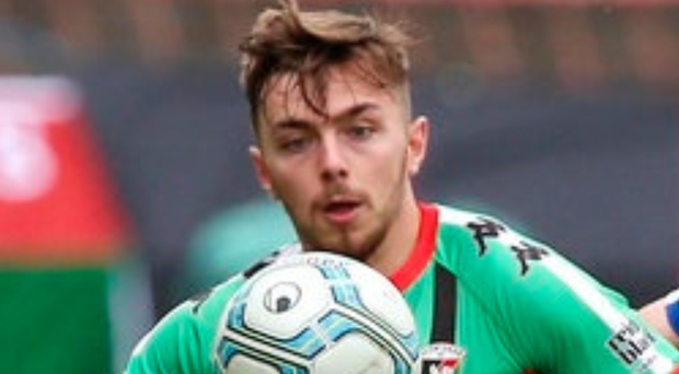 Sign on: Robbie McDaid has agreed new Glens contract