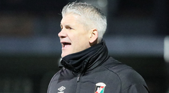 Axe falling: Gary Smyth has one more game at the helm