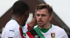 High expectations: Robbie McDaid acknowledges that Glentoran are under pressure to win tonight