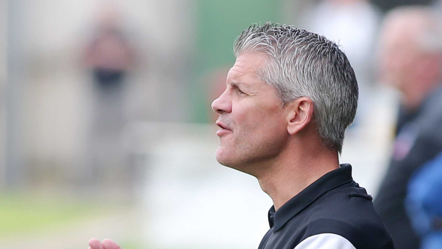 Oval legend: Gary Smyth could not resist the lure of Glentoran on this occasion
