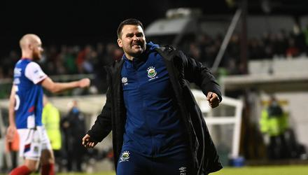 David Healy has won almost two in every three games as manager of Linfield