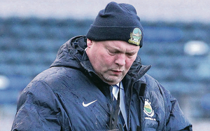 Time's up: David Jeffrey is nearing the end of his glorious 17-year reign as Linfield  manager