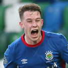 Long wait: Kyle McClean can at last play for Linfield again after joining in November but being held back by transfer rules