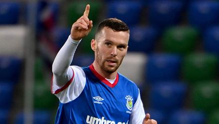 WInner: Linfield ace Marty Donnelly's goal was enough to see off Ards on Tuesday night