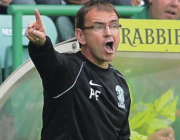 Good to talk: Pat Fenlon has said he is 'open to offers' as Linfield begin the search for a new manager