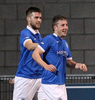 Moving on: Michael Carvill has left Linfield after seven years