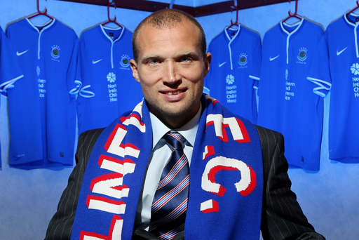 Fresh outlook: Warren Feeney said he was determined to bring a professional approach to the Linfield job