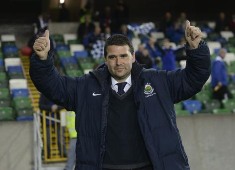 Huge challenge: David Healy must transform Linfield's fortunes