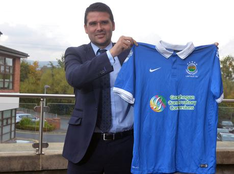 Showing his true colours: David Healy
