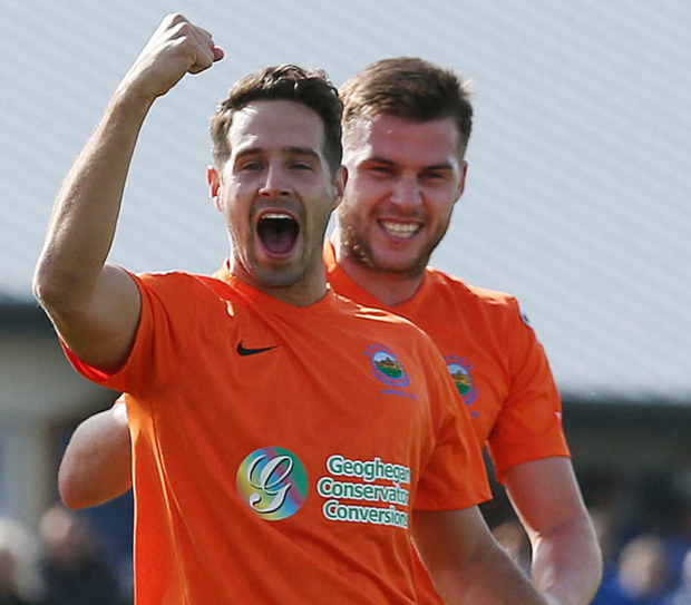 Fighting spirit: Sean Ward says Linfield never lost their belief