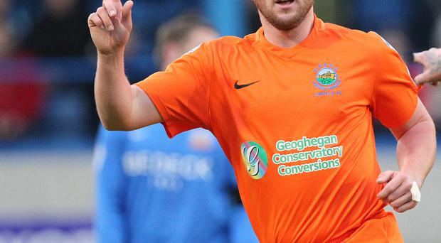 Pointing the way: Linfield ace Jamie Mulgrew insists another Gibson Cup is on the horizon
