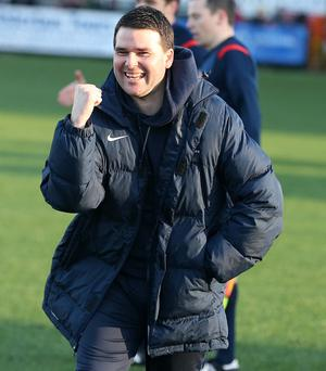 Title talk: Linfield boss David Healy says his team's clash with Crusaders is a must-win game